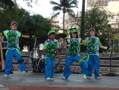 Hip Hop Kidz perform
